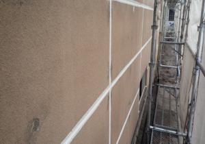 外壁モルタル塗装の流れ