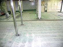 5.ホンダカーズ福岡 工場床塗装 ケレン完了