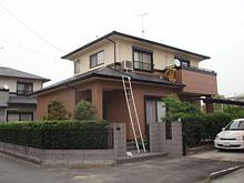 八女市 N様邸 屋根塗装リフォーム 施工後