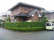 遠賀郡 I様邸 屋根・外壁塗装リフォーム 施工前
