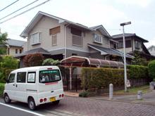 筑紫野市K様邸 屋根、外壁、破風の塗装リフォーム 施工前