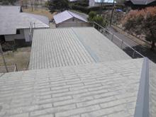 大分県湯布院 福岡魚凾株式会社様 別荘 屋根施工前