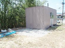 太宰府市老人ホーム コンテナ塗装工事 塗装完了