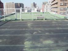 ビル屋上防水工事 施工前
