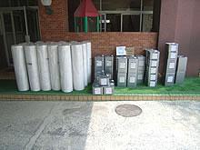 水城幼稚園屋上防水工事  材料