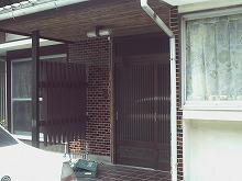 筑紫野市 K様邸 玄関リフォーム 施工前