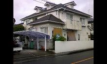甘木市 Ⅰ様邸 屋根・外壁塗装工事 施工前