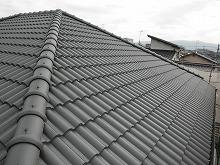 福岡県 春日市 M様邸 屋根塗装施工後