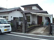 太宰府市梅ケ丘 K様邸 屋根・外壁塗装工事 施工前