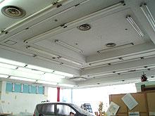 内部天井 塗装工事 施工後