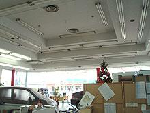 内部天井 塗装工事 施工前