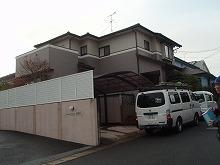 筑紫野市 K様邸 住宅 屋根外壁塗装施工前