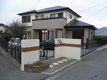太宰府市 K様邸 外壁・屋根塗装工事 施工後