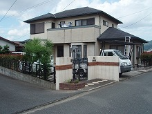 太宰府市 K様邸 外壁・屋根塗装工事 施工前