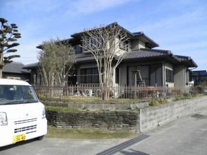 筑紫野市 S様邸 外壁塗装工事 施工前