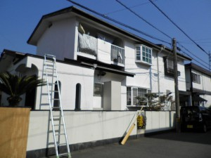 筑紫野市 O様邸 外壁 屋根塗装工事 施工前