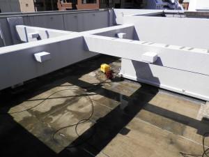 福岡市 Rビル 屋上塗装防水工事 施工前