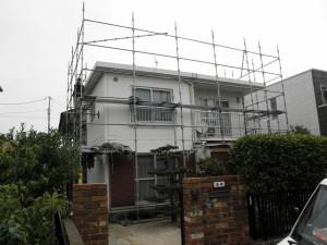 太宰府市 K様邸 住宅塗装施工前