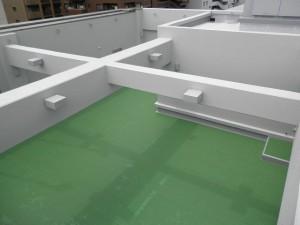 福岡市 Rビル 屋上塗装防水工事 施工後