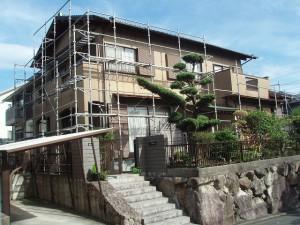 福岡県 筑紫野市 W様邸 外壁塗装施工前