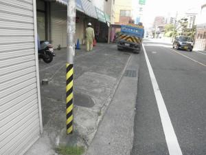 春日市 I ビル 舗装工事 施工前