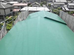筑紫野市 O様邸 屋根塗装工事 施工後