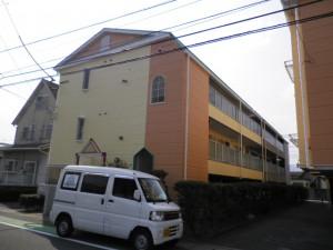 春日市 Pアパート 外壁屋根 塗装工事 施工後