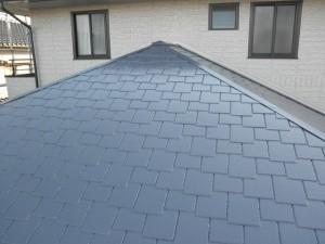 福岡県 小郡市 K様邸 屋根塗装工事 施工後