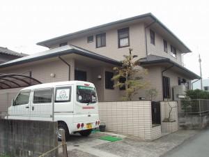 福岡県 小郡市 K様邸 外壁 屋根 塗装工事 施工後