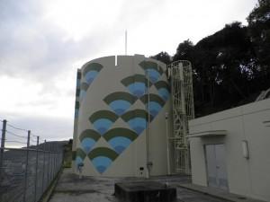 筑紫野市 配水池 低区塗装工事 施工後