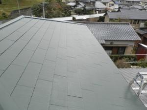 太宰府市 N様邸 屋根塗装工事 施工後