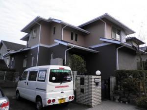 筑紫野市 S様邸 住宅塗装工事 施工後