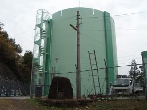 筑紫野市 配水池 高区塗装工事 施工後