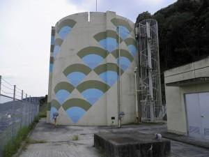 筑紫野市 配水池 低区塗装工事 施工前