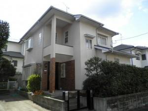 福岡市西区 T様邸 外壁屋根塗装工事 施工前