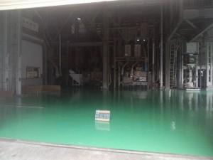 筑紫野市 JA 塗床工事 完了