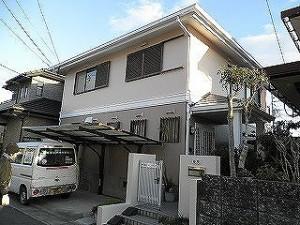 福岡市 H様邸 外壁屋根塗装工事 施工後