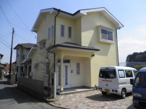 筑紫野市 Y様邸 住宅塗装工事 完了