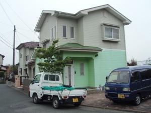 筑紫野市 Y様邸 住宅塗装工事 施工前