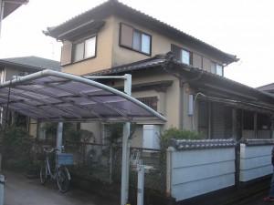 福岡県 甘木市 T様邸 住宅塗装工事 施工前