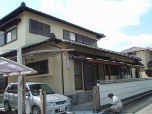 福岡県 甘木市 T様邸 住宅塗装工事 完了