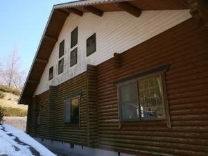 筑紫野市 竜岩自然の家 塗装工事 施工前