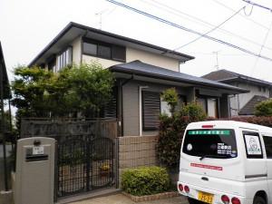 福岡市東区 H様邸 外壁 屋根 塗装工事 完了