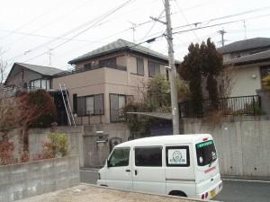 大野城市 S様邸 住宅塗装工事 施工前
