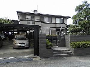 福岡県 太宰府市 N様邸 住宅塗装工事 施工前