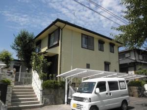 筑紫野市 K様邸 外壁屋根塗装工事 施工後