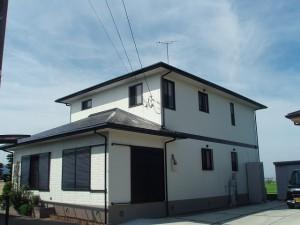久留米市 H様邸 外壁 屋根塗装工事 施工後