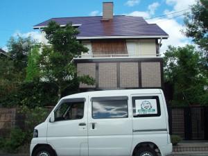 筑紫野市 T様邸 屋根塗装工事 施工後