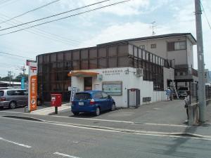 福岡県 東区 郵便局 外壁塗装改修工事 施工前