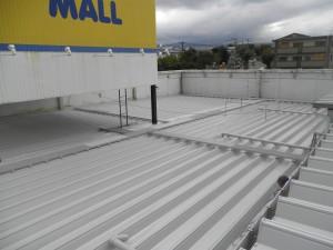 春日市 エコモール 屋根塗装工事 施工後